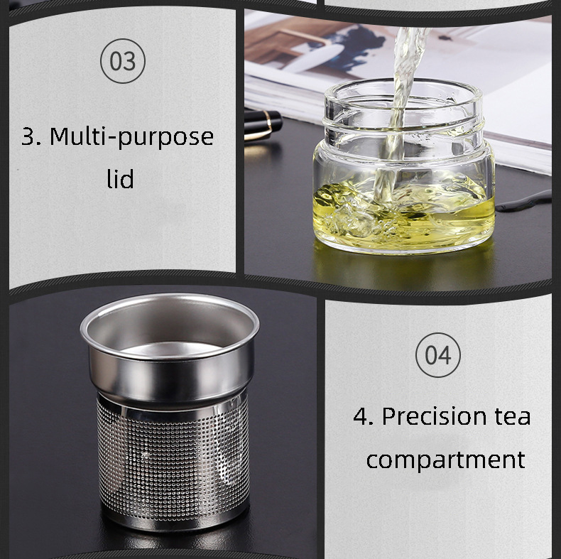 Garrafas de água de vidro 500 ml