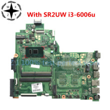 For HP 14-BS 240 G6 Series Laptop Motherboard DA0P1BMB6D0 With SR2UW i3-6006u CPU 925423-001 925423-501 100% Tested Fast Ship