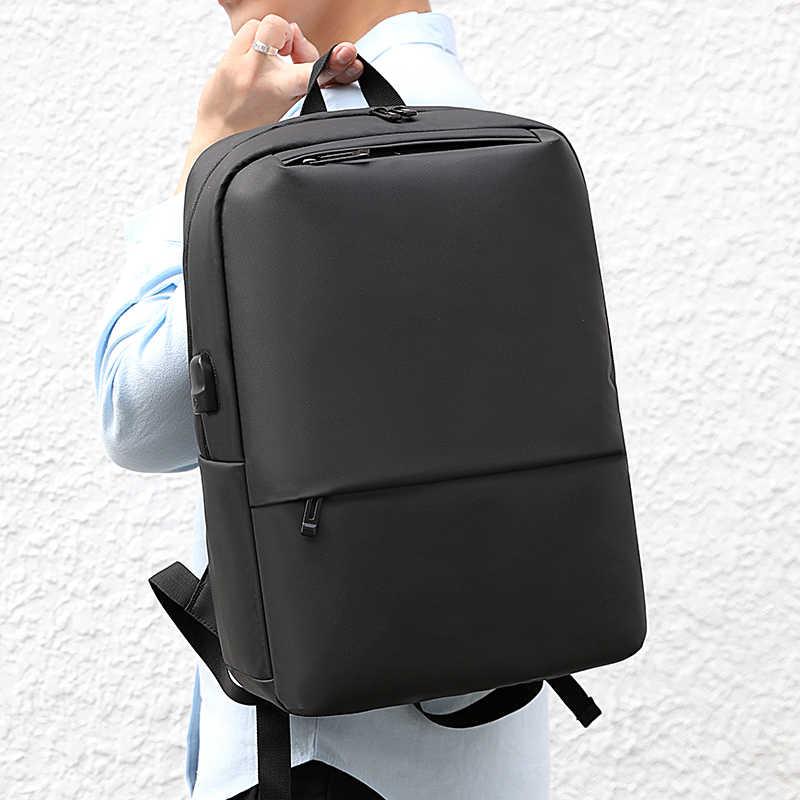 """KEENPACK 2020 yeni sırt çantası dizüstü seyahat çantası iş bilgisayar siyah USB 16 """"siyah renk sıcak satış kaliteli"""