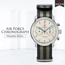 42 مللي متر الطلب 1963 الرجال ساعة كرونوغراف الياقوت Gooseneck ST1901 حركة رجالي الطيار ساعات آلية سلاح الجو الصيني