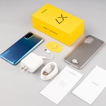 realme X7 6GB 128GB Smartphone 5G 6.4inch Full Screen 64MP Quad Cameras 4300mAh 65W Fast Charger Dimensity 800U Electronics Mobile Phones