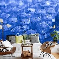 Drop Shipping Photo Wallpaper Custom Aromatic HD Summer Frozen TV Background Mural Living Room Restaurant Cold Store Wallpaper