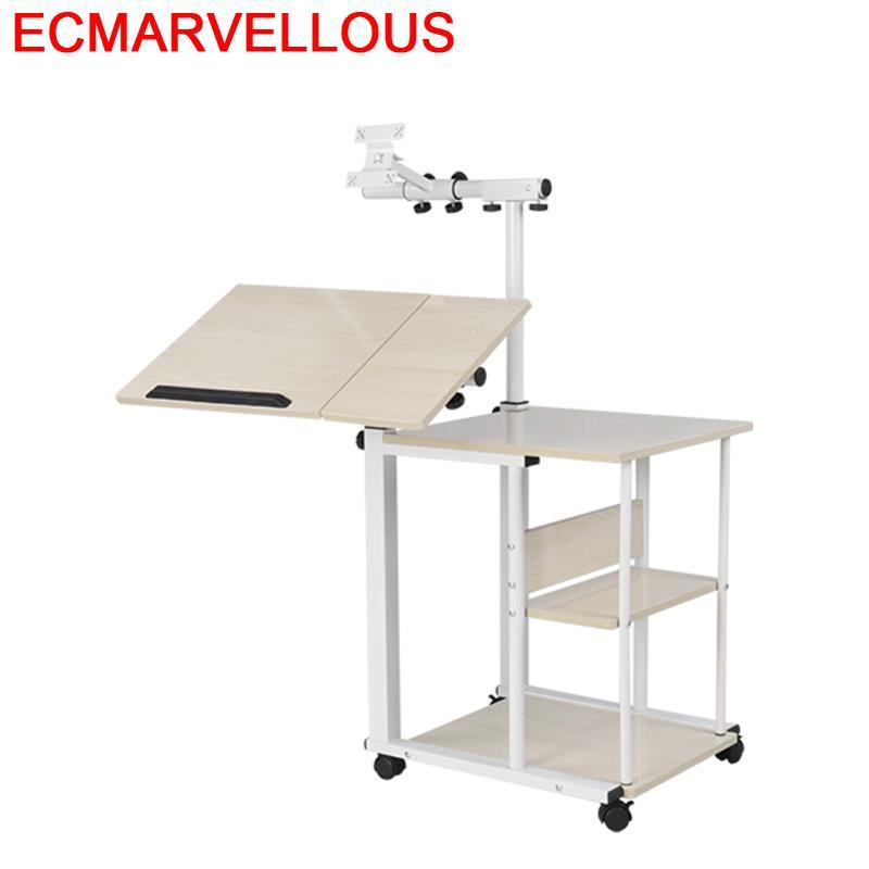 Escrivaninha Mueble Portatil Escritorio De Oficina Biurko Bed Tray Mesa Adjustable Laptop Bedside Study Desk Computer Table