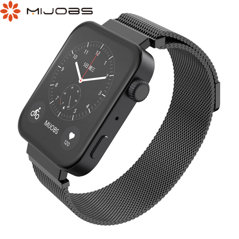For Xiaomi Watch Strap Replaceable Strap For Xiaomi Watch Magnetic Stainless Steel Bracelet Watch Wristband Easy To Replace