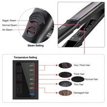 Flat Steam Iron Hair Straightener