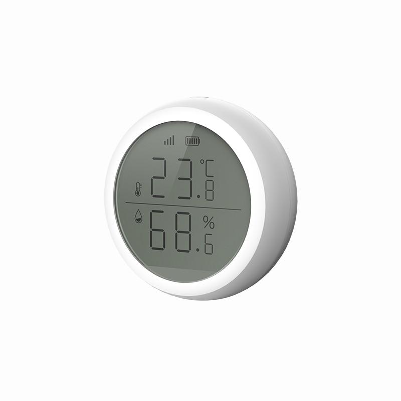 2020 New TuYa ZigBee Temperature And Humidity Sensor Thermometer Digital Thermometer Hygrometer Gauge