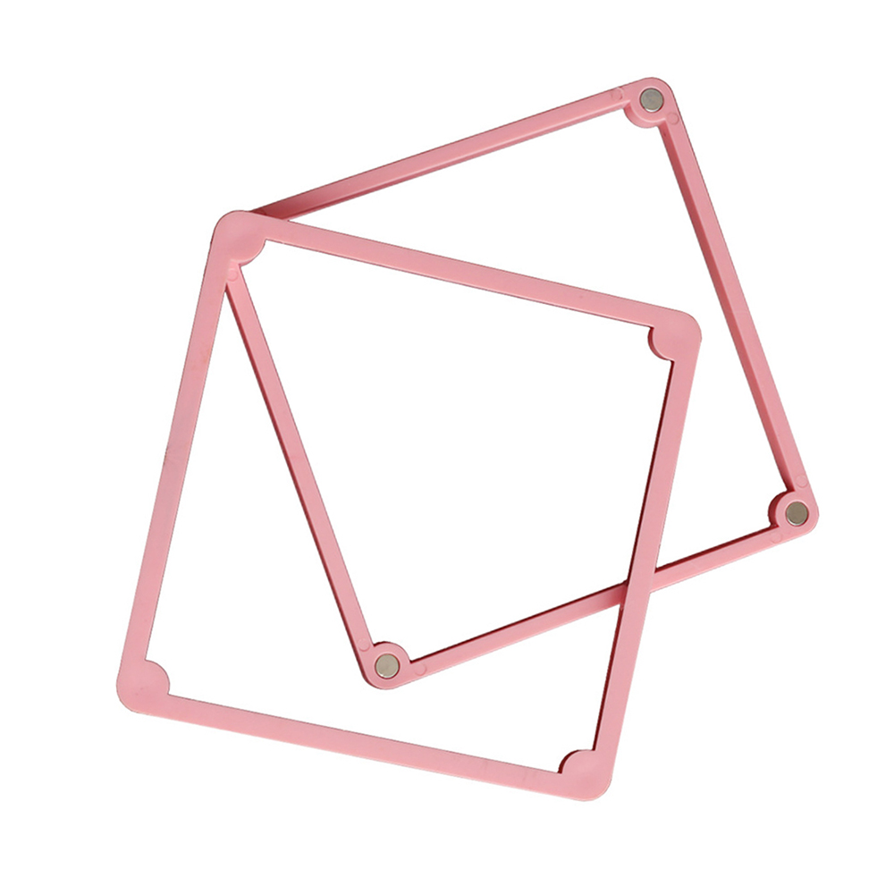 Cake Frames Fixing Stencil DIY Baking Mold Candy Biscuits Solid Color Non-toxic Plastic Cake Decorating Tools