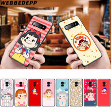 Kawaii Láctea Anime Girl Soft Case para Samsung Galaxy A50s A40s A30s A20s A10s Phone Case Capa Mole TPU(China)