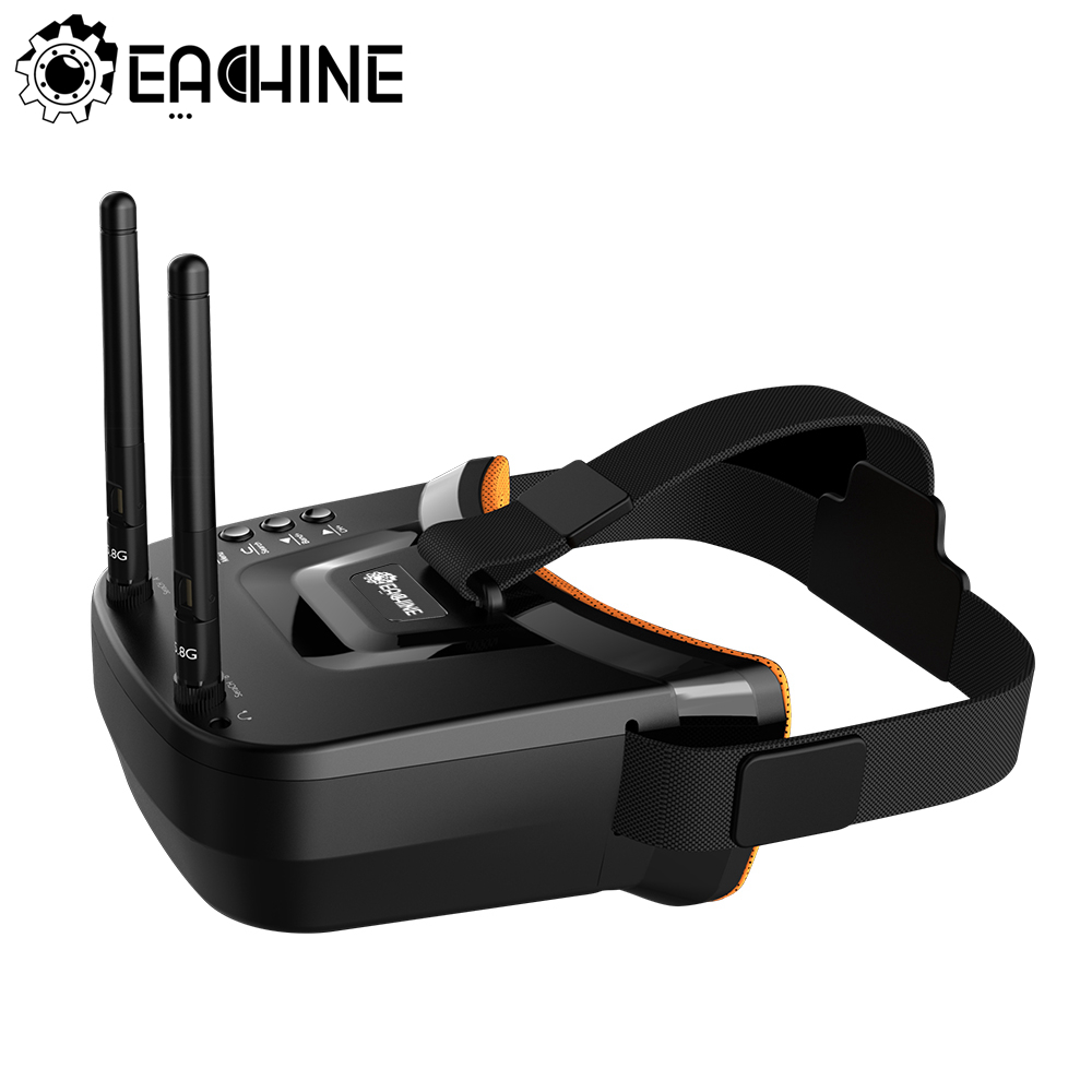 Eachine VR009 5.8G 40CH Auto Searching Double Antennas mini FPV Goggles 3.0...