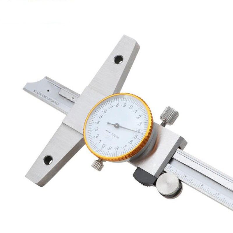 Cadran pied à coulisse échelle Laser numérique pied à coulisse mesure micromètre acier inoxydable jauge de profondeur outil de mesure
