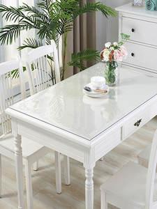 PVC Transparent Table-Mat Rectangular Soft Glass Kitchen Oil-Proof 1mm Pad