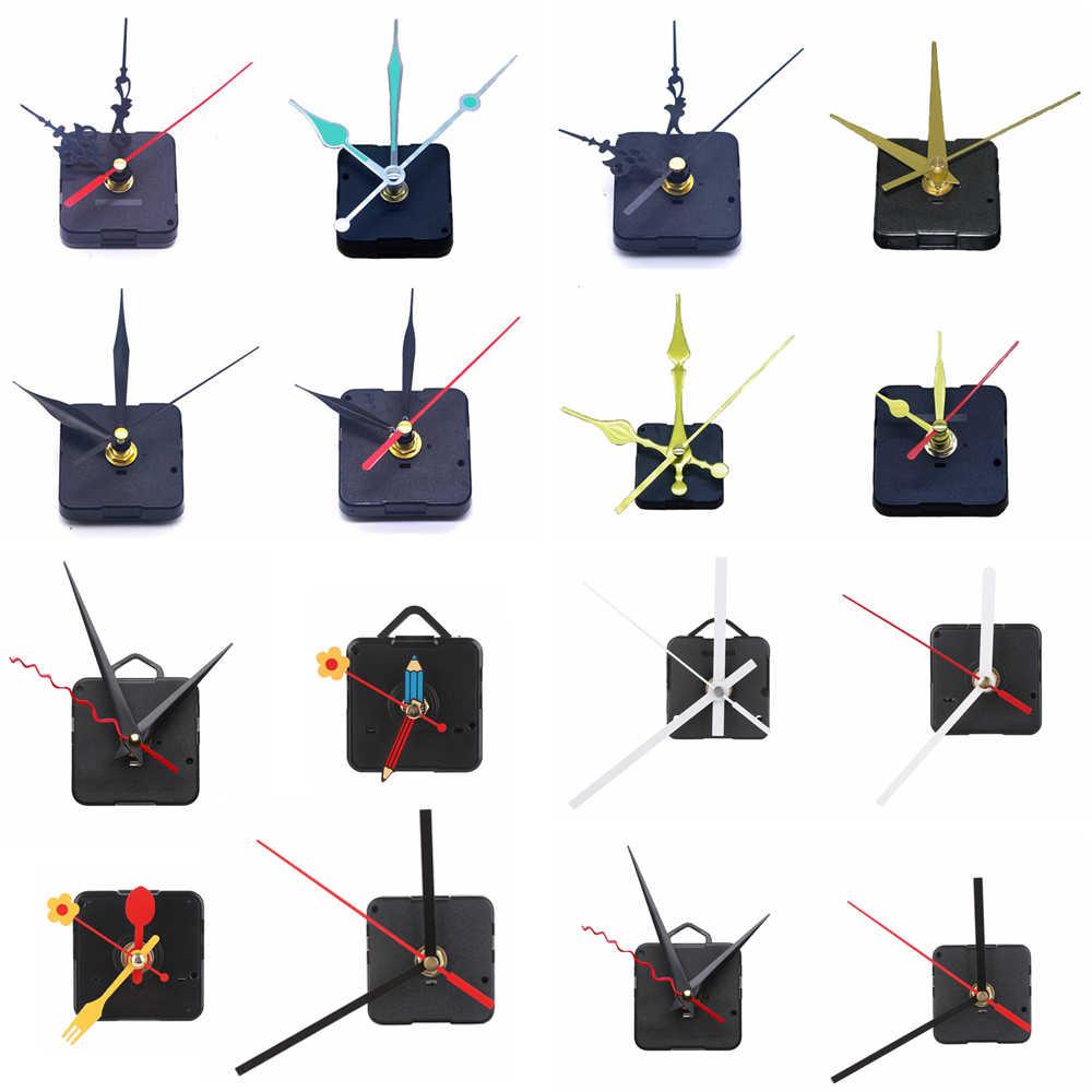 1 zestaw cisza niezbędne mechanizm ruchu godzina/minuta/sekundę dzwon rower akcesoria kwarcowy części do zegarów wystrój domu narzędzie do wymiany