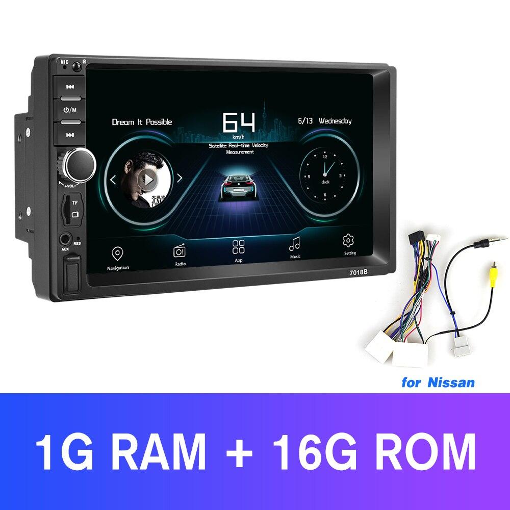Player Auto Rádio com câmera de Vídeo