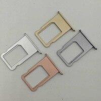 Micro suporte para cartão sim  bandeja para cartão sim  peça de substituição para iphone 6 6s 6 plus