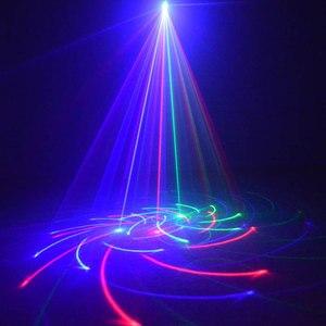 Image 4 - Outdoor Christmas Lights RGB Laser Projector Motion 32 Patterns Holiday Festoon Lantern Light New Years Garland Decor