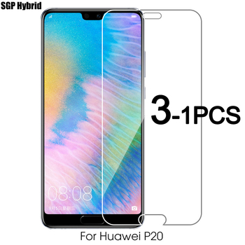 1-3PCS Safety Glass Screen Protector For Huawei P20 P20 Lite P20 Pro Tempered Film For Hauwei P9 Lite Mini Y9 2018 Y3 2018 Glass