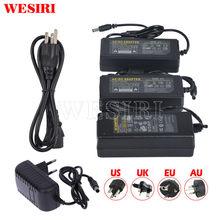 Led adaptador de alimentação ac para dc transformador dc5v 12v 24v 48v1a 2a 3a 6a 7a 8a 10a para dc 5v 12v 24v luzes de tira led