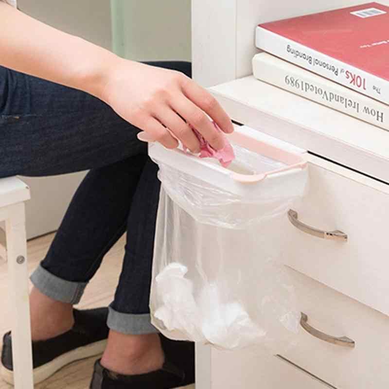Drzwi szafki powrót wiszący kosz na śmieci przechowywanie do kuchni śmieci worek na śmieci pokrowiec na puszkę wiszące szafki kuchenne kosz na śmieci narzędzie