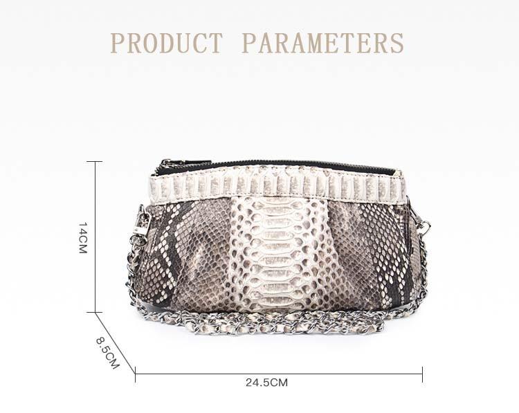 negócios moda senhoras saco de corrente bolinhos
