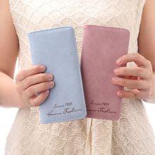 women's wallet Long Wallet Simple Froste