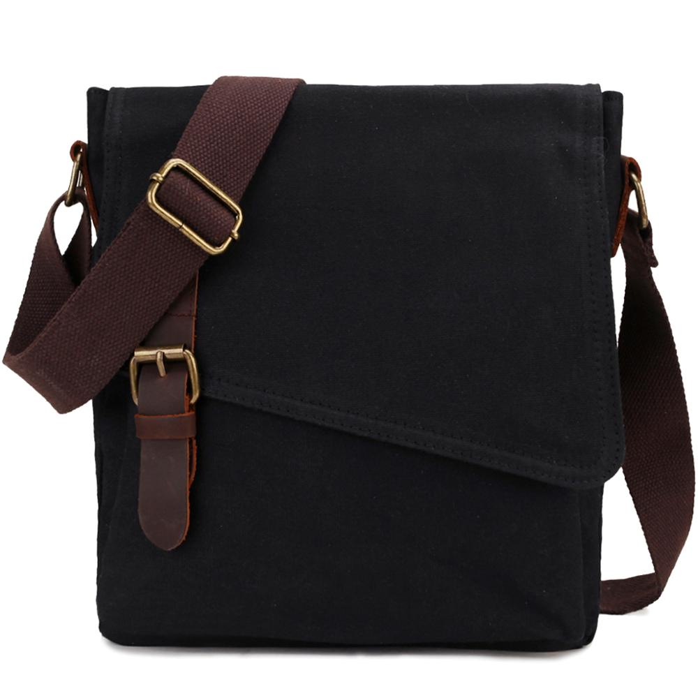 Shoulder Bag For Men Vintage Small Messenger Bag Mens Water Resistant Crossbody Bag Women Bag