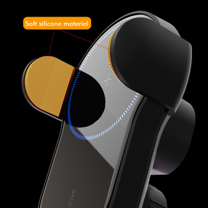 Image 3 - 15W Qi Wireless Car Charger Air Vent Phone Holder for iPhone Samsung Huawei Fast Charging Wireless Charger Auto Sensor Clamping