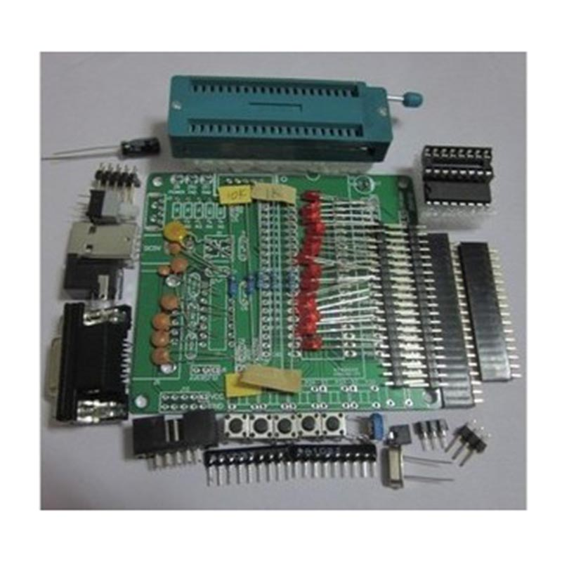 STC89C52 51/AVR MCU Development Board Learning Board Spare Parts DIY Learning Board Kit