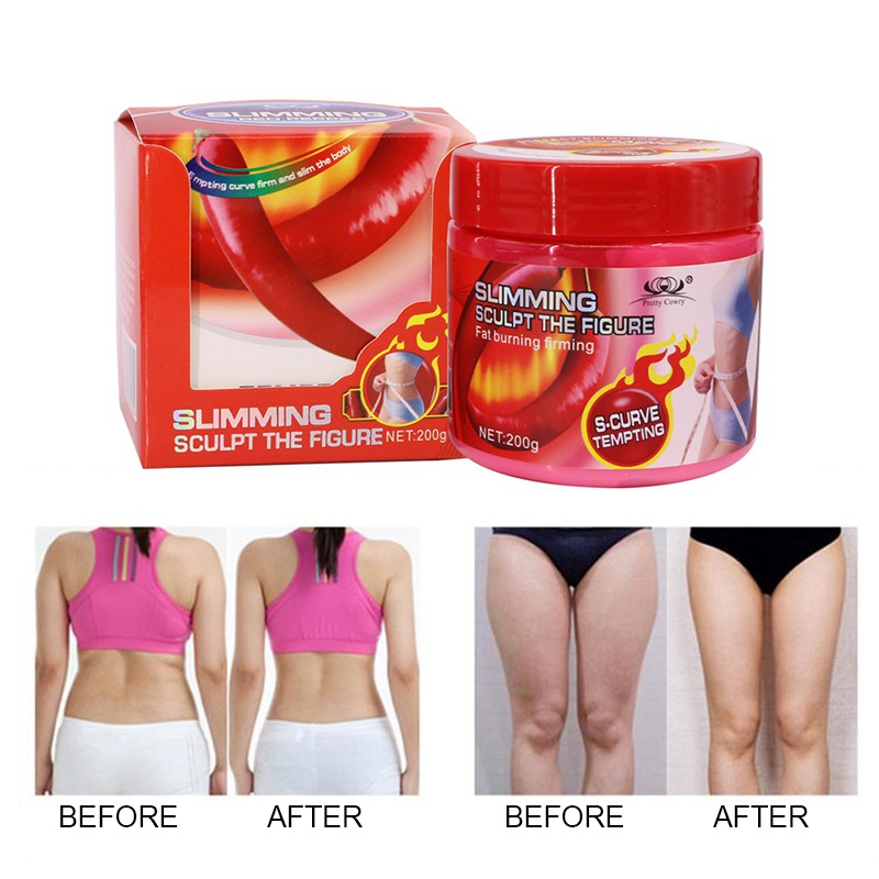 Weight Loss Products Hot Chilli Chili Slimming Creams Leg Body Waist Effective Anti Cellulite Fat Burning Gel