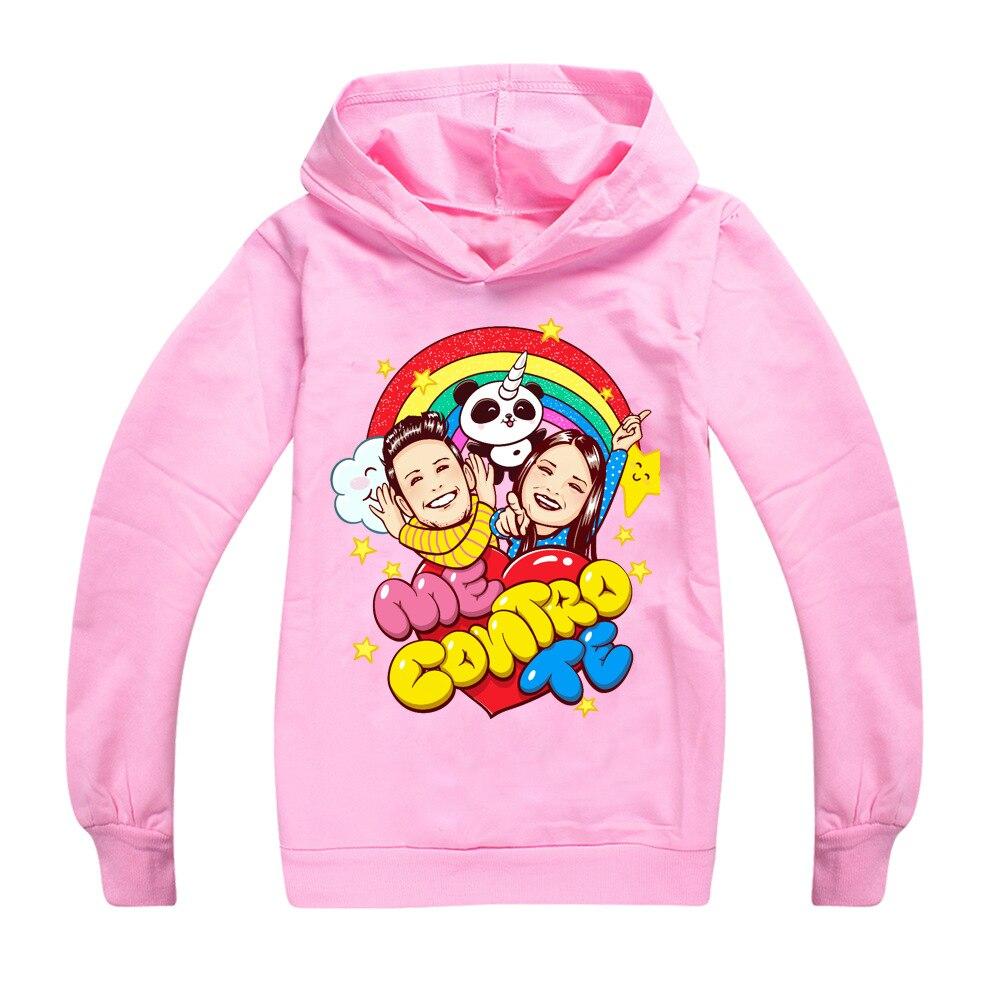 Kids Hoodies Casual Long Sleeve Cartoon Jumpers Boys Girls Tops Pullover Unisex