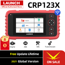 Launch X431 CRP123X OBD2 Code Reader Creader 123X Car Scanner ENG ABS SRS Transmission Car Diagnostic Tool Free Update Creader