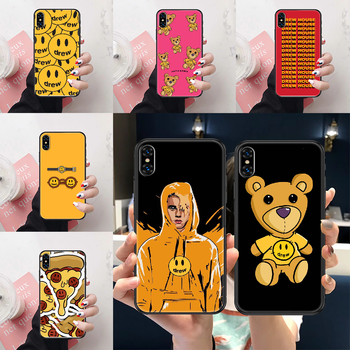 Drew Justin Bieber Phone Case Cover Hull For iphone 5 5s se 2 6 6s 7 8 12 mini plus X XS XR 11 PRO MAX black luxury cell cover image