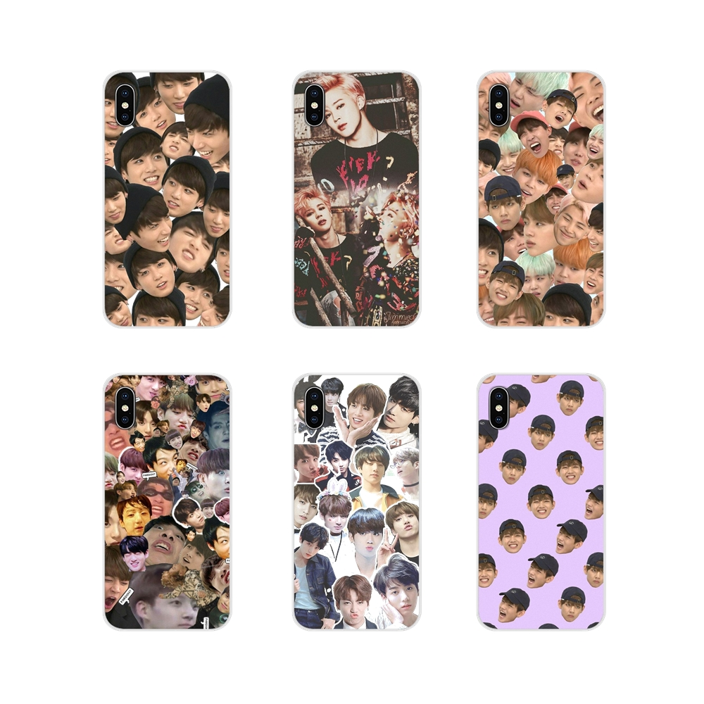 For Samsung Galaxy A3 A5 A7 A9 A8 Star A6 Plus 2018 2015 2016 2017 Jungkook Faces Luxury Accessories Phone Cases Covers