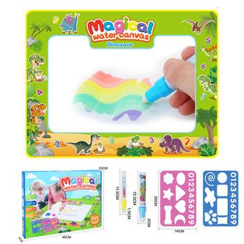 Magic Pen Water Drawing Book Coloring Doodle Mat for Kids Water Painting Montessori Toy magic water Book Big Mat Board Toy