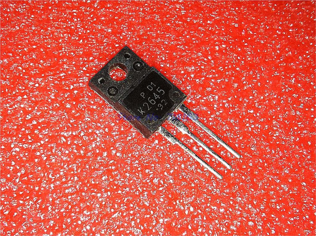 5pcs/lot 2SK2645 K2645 TO-220F In Stock