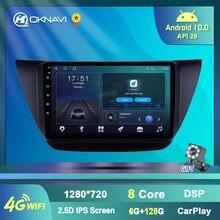 Автомобильный мультимедийный видеоплеер 6g + 128g android 10