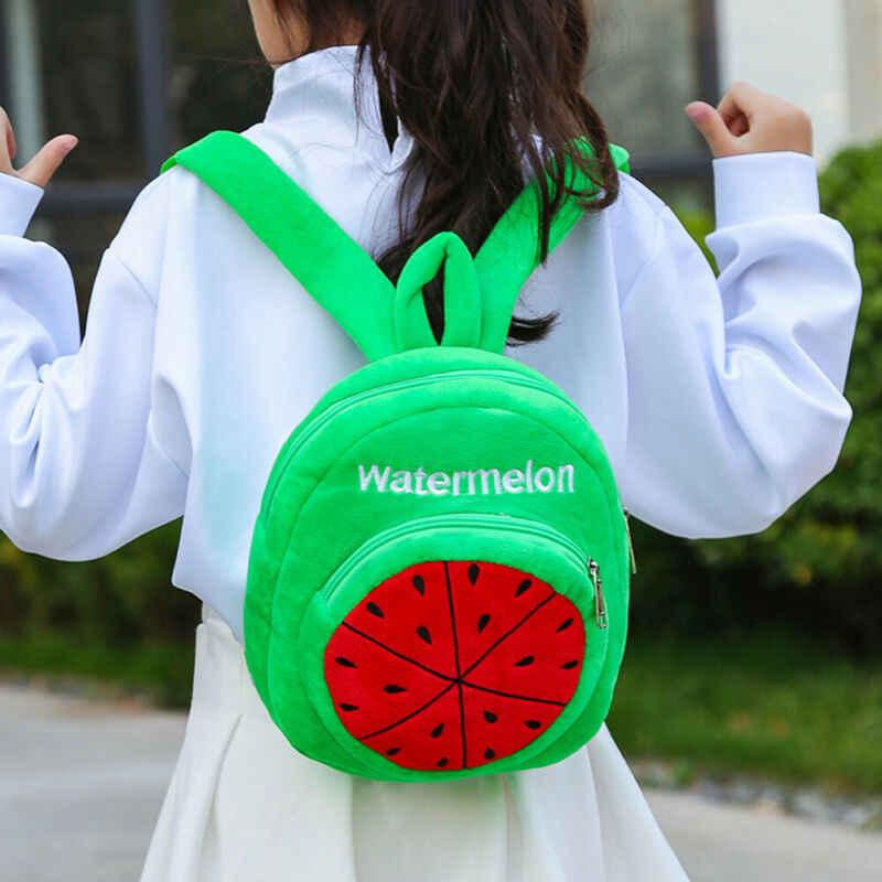 Neue nette Ananas kinder plüsch rucksack spielzeug mini schule tasche kinder geschenke jungen mädchen baby student taschen schöne