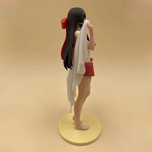 Image 2 - אנימה 1/8 סולם צבוע הניצוץ לב בגד ים Ver. Kaguya ביקיני ילדה פעולה PVC איור צעצוע Brinquedos 20CM