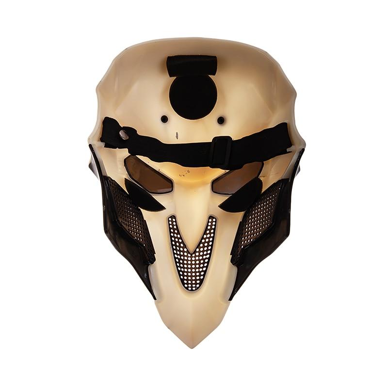 Overwatch OW Reaper Gabriel Reyes Cosplay Props Full-Face Mask Headgear Helmet Masquerade Halloween Accessory 2
