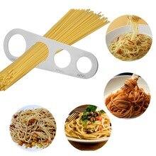Kitchen-Accessories Spaghetti-Measurer Pasta NICEYARD Stainless-Steel 4-Holes 1pcs