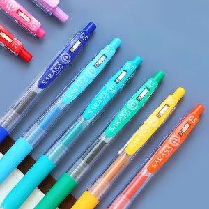 Image 4 - ゼブラJJ15 sarasaクリッププレスカラフルな中立ペンゲルインク筆記ペン 0.5 ミリメートル日本 10 色セット送信新パッケージ