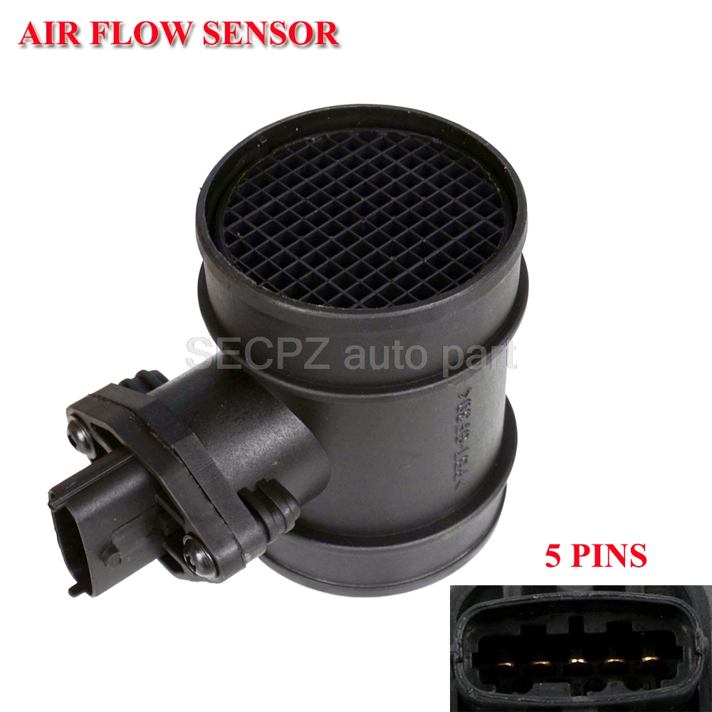 MASS AIR FLOW SENSOR METER MAF FOR OPEL VAUXHALL ASTRA G COMBO CORSA OMEGA B VECTRA ZAFIRA 1.7 2.0 <font><b>0281002180</b></font> 90530767 93171356 image
