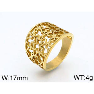 Titanium steel Bear Hollowed Ring Bear Ring New Product Jewelry For Women Men Luxury