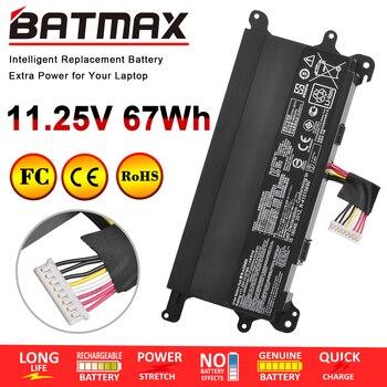 Batmax A32N1511 A32LM9H 11.25V 67WH Laptop Battery for ASUS ROG G752 G752V G752VT G752VY G752VL G752VM GFX72 GFX72V GFX72VT