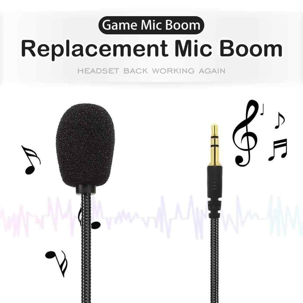 Zestaw słuchawkowy z mikrofonem regulowany 360 stopni zginalny mikrofon do gier 3.5mm w połączeniu Mic wtyczka słuchawkowa to kontroler do gier