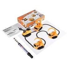 Magie Auto Mini Stift Spielzeug Induktive Fahrzeuge Autos Modell Serie Puzzle Folgen Ziehen Linie Spielzeug für Kinder Jungen Kinder Lustige spielzeug