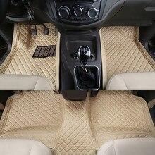 ZHOUSHENGLEE – tapis de sol de voiture personnalisé, accessoire de voiture, pour Cadillac SRX cds Escalade ATS CT6 XT5 CT6 ATSL XTS SLS