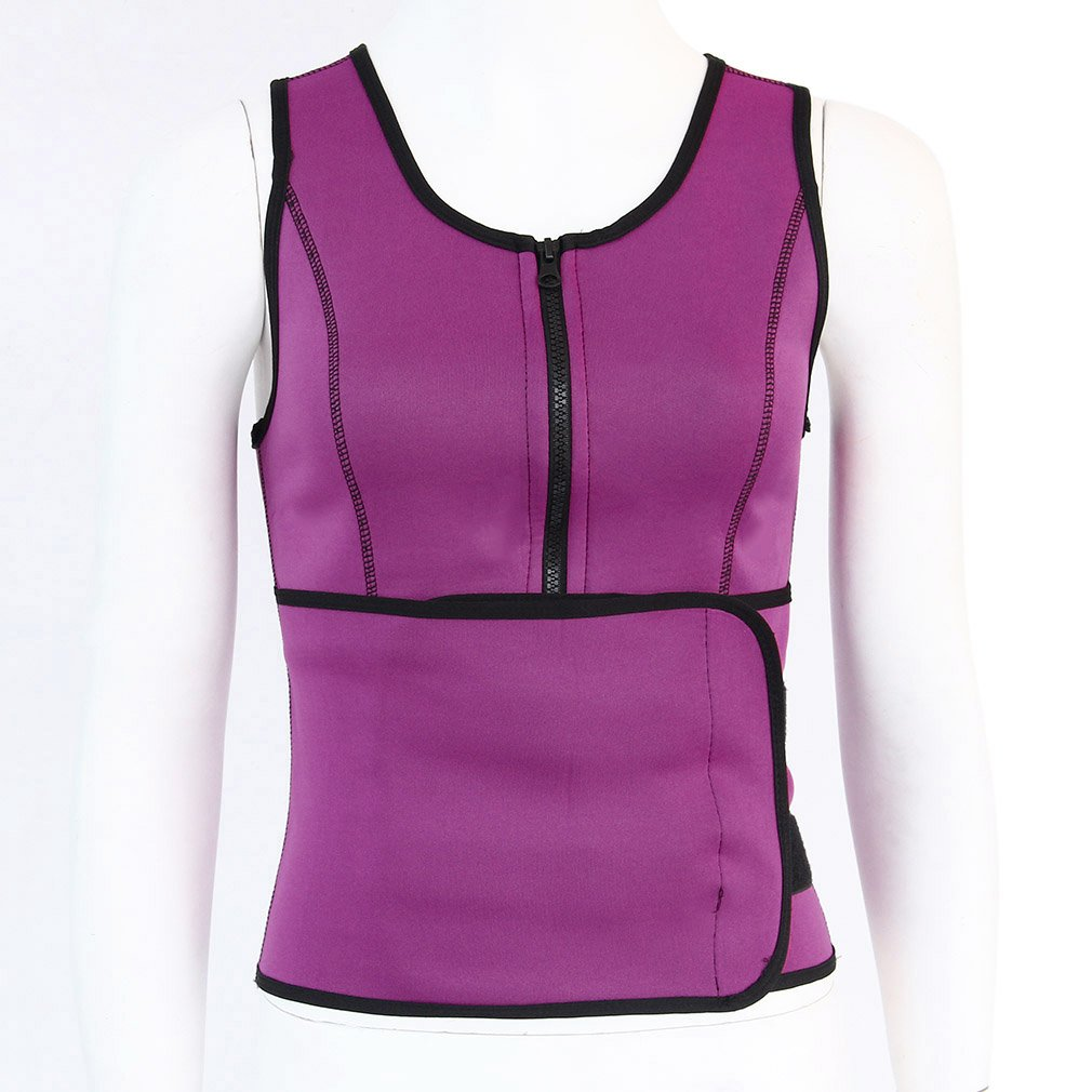 Breathable Women Fashion Sport Fitness Vest Waistband Belt Sexy Slim Body Exercise Waist Burning Fat Clothes Support Yoga