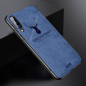 Cloth Frabic Texture Phone Case For Xiaomi Mi 9 9SE 8 A1 A2 Lite 5X 6X Redmi 6A 6 Pro Redmi Note 7 6 5 Pro Soft Edge Cover Shell