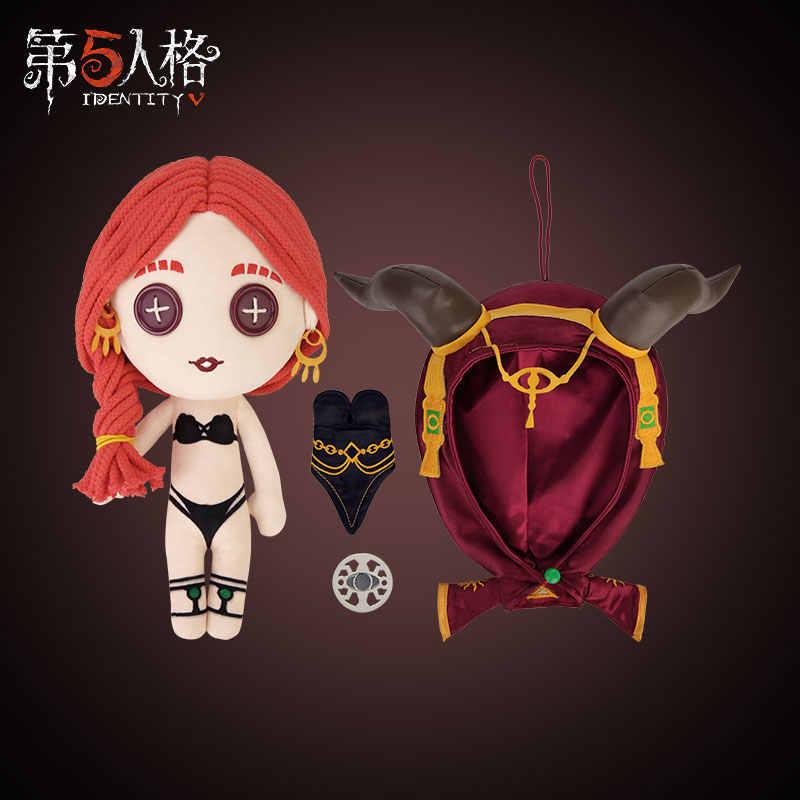 Lindo juego identidad V Priestess Fiona Gilman Cosplay felpa muñeca peluche juguete cambio traje vestir ropa lindo regalo de Navidad