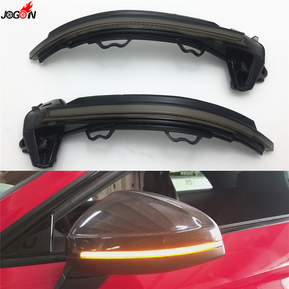 Dynamic Turn Signal Light Side Mirror Indicator For Audi A4 S4 RS4 A5 S5 RS5 B9